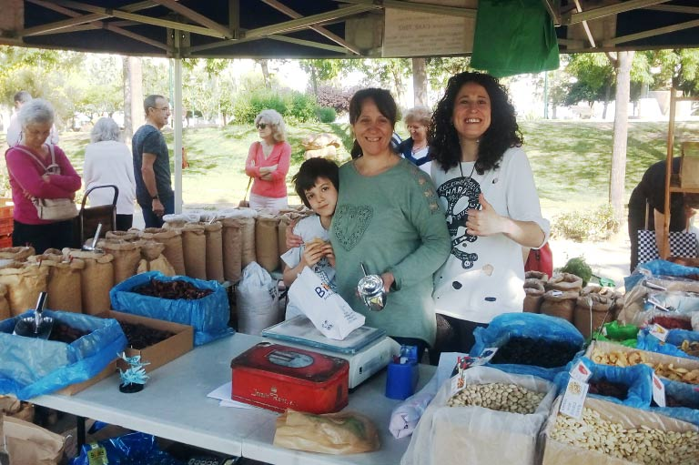 Organic dried fruit, nut and legume supplier Leonor Sanchez