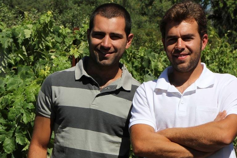 Producteurs de vin biologique Pedro Cano et José Antonio Acosta