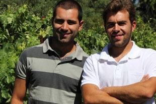 Organic wine producers Pedro Cano & José Antonio Acosta