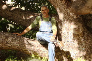 Organic custard apple, avocado and mango producer Jose Antonio González
